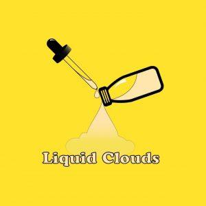 Liquid Clouds | Vape E-Liquid Logo Design
