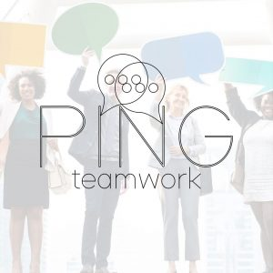 Ping team communication logo