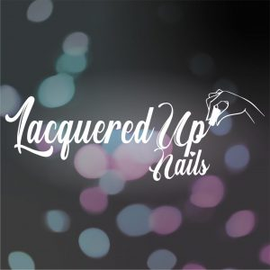 Lacquered Up Nails logo