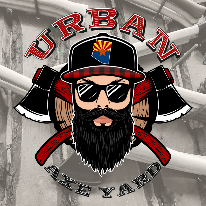 Urban Axe Yard Arizona - Logo Design